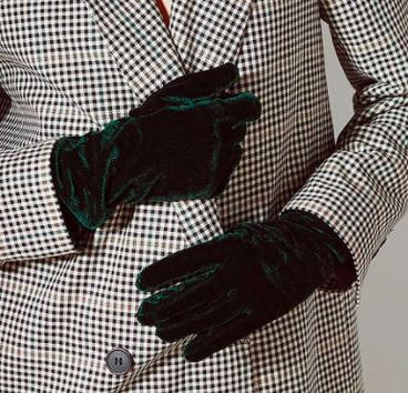 UO Velvet Opera Glove