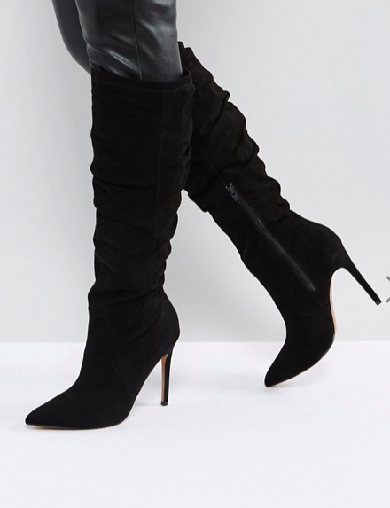 ASOS CORA Slouch Pointed Knee Boots