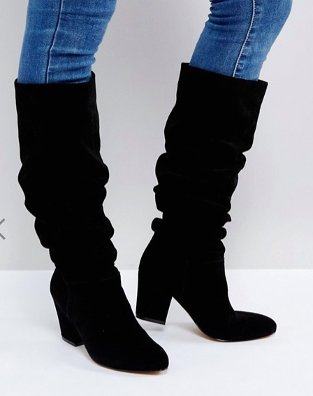 Office Kowl Slouch Leather Boots