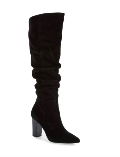 x Something Navy Aiden Knee High Boot