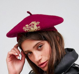 ASOS Dragon Applique Beret