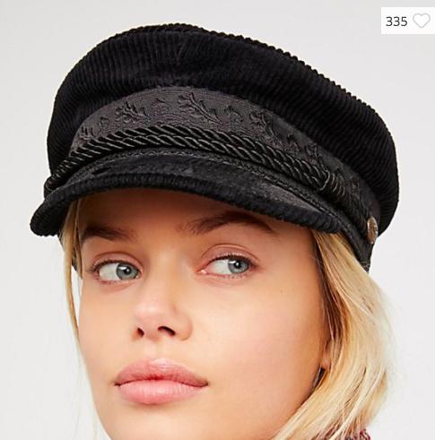 Albany Cord Lieutenant Hat