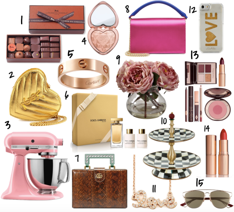 Valentine's Day Gift Guide For Her | TrufflesandTrends.com
