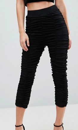 ASOS Legging in Sexy Ruched Mesh