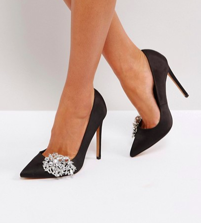 ASOS PRINCESS Jewelled High Heels