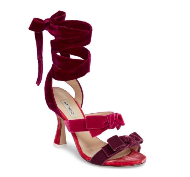 Diletta Ankle Wrap Sandal ATTICO