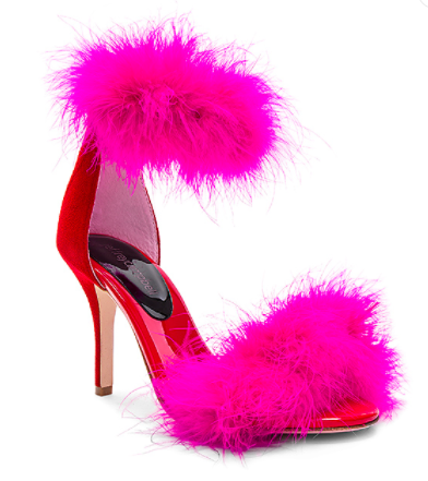 INABA FEATHER HEEL  JEFFREY CAMPBELL Jeffrey Campbell