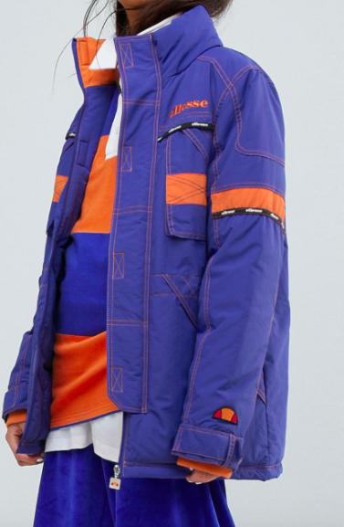 Ellesse Ski Parka With Contrast Stitch