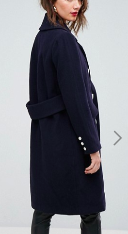 Forever New Military Style Coat