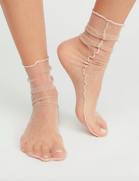 Hey You Sheer AnkletHey You Sheer Anklet
