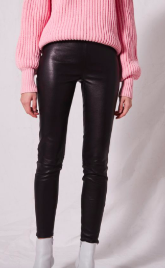 **Leather Skinny Pants by Boutique