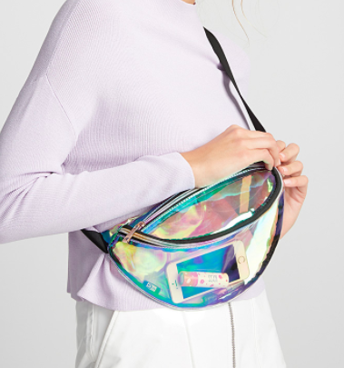 simons  Iridescent fanny pack