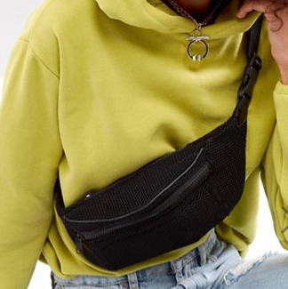 ASOS LIFESTYLE Mesh Fanny Pack