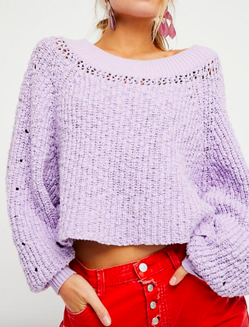 Pandora's Boatneck Sweater