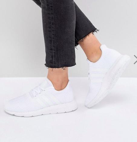 adidas Originals Swift Run Sneakers In White