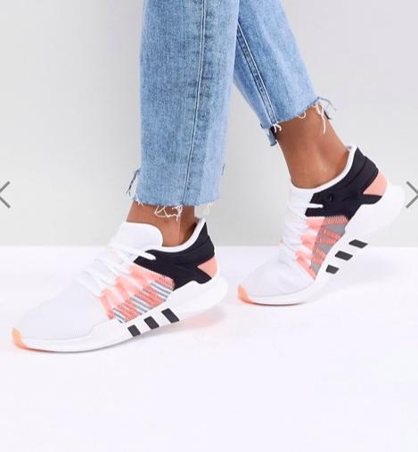 adidas Originals EQT Racing Adv Sneakers In White