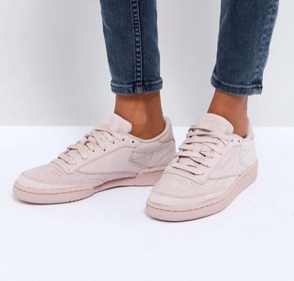 Reebok Club C Rs Sneakers In PinkReebok Club C Rs Sneakers In Pink