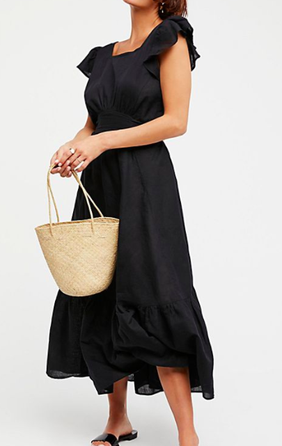 Endless Summer Takin' A Chance Midi Dress
