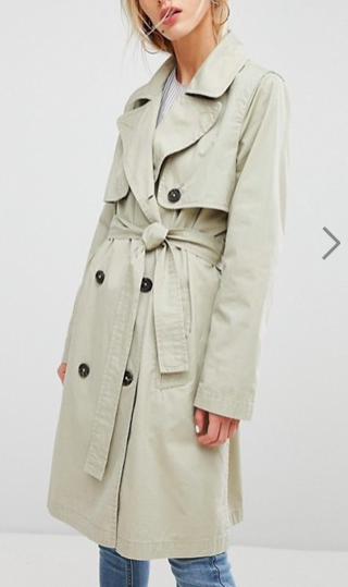 Current Air Trench Coat
