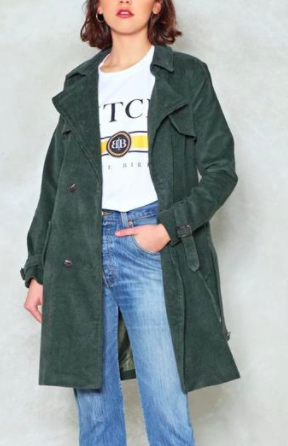 Nasty Gal For the Re-Cord Trench Coat Promotions