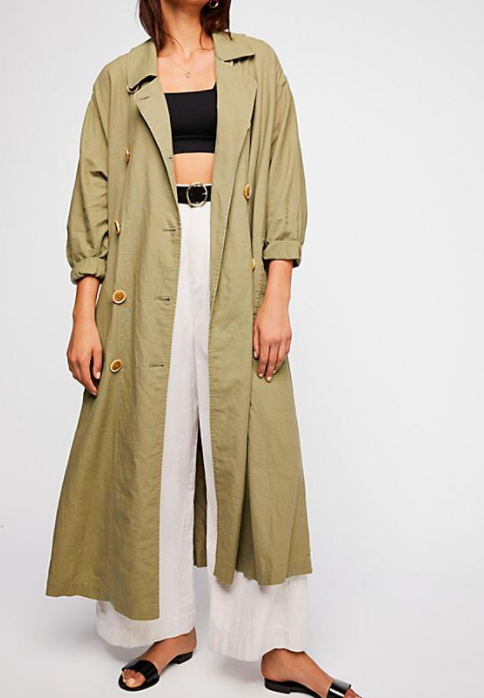 FP Sweet Melody Trench Coat