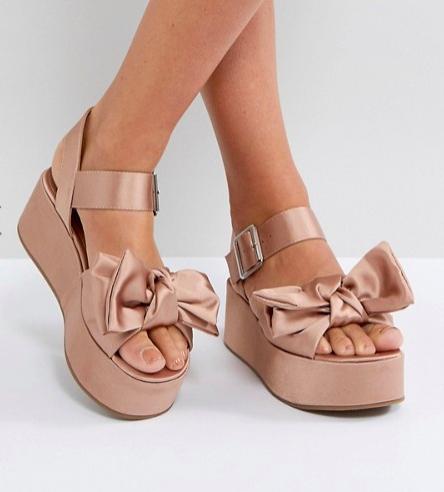 ASOS HESTER Flatform Sandals