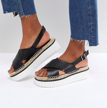 ASOS TYSON Flatform Sandals
