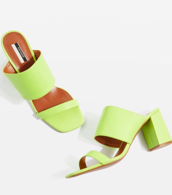 Topshop Nickle Mule Sandals