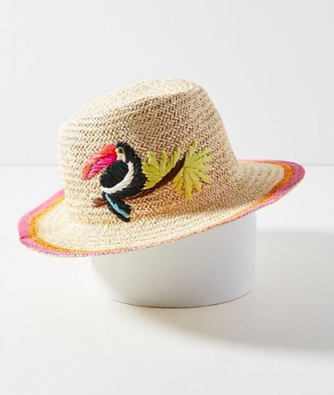 Tropical Toucan Fedora