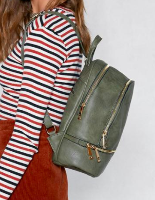 WANT Don't Look Back Vegan Leather Backpack