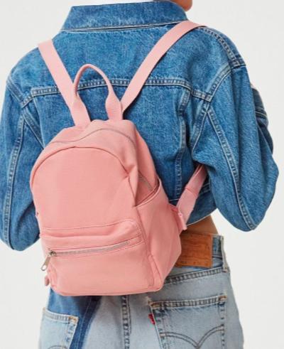 UO Classic Canvas Mini Backpack