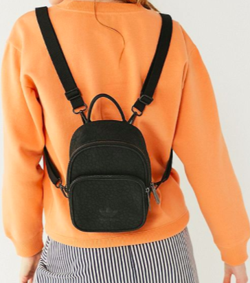 adidas Originals Classic Mini Faux Leather Backpack