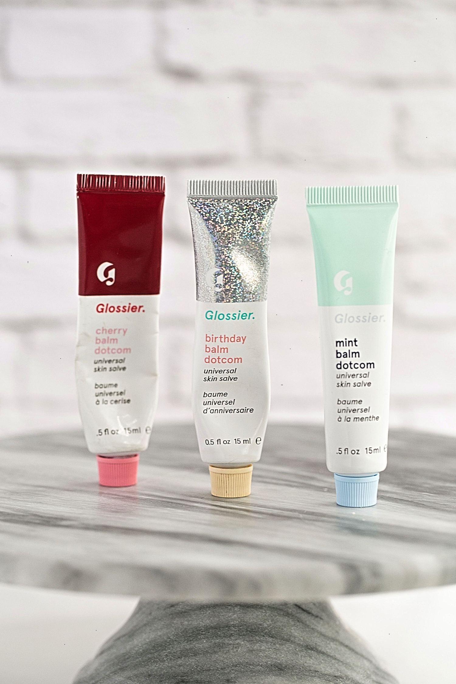 New Favorite Beauty Buys- Glossier Balm Dot Com | TrufflesandTrends.com