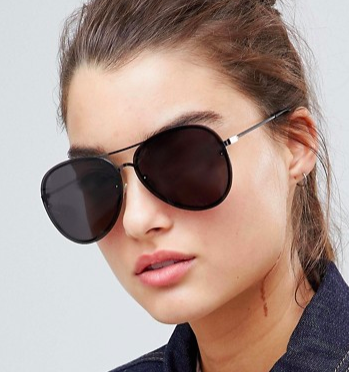 Pieces Aviators Sunglasses