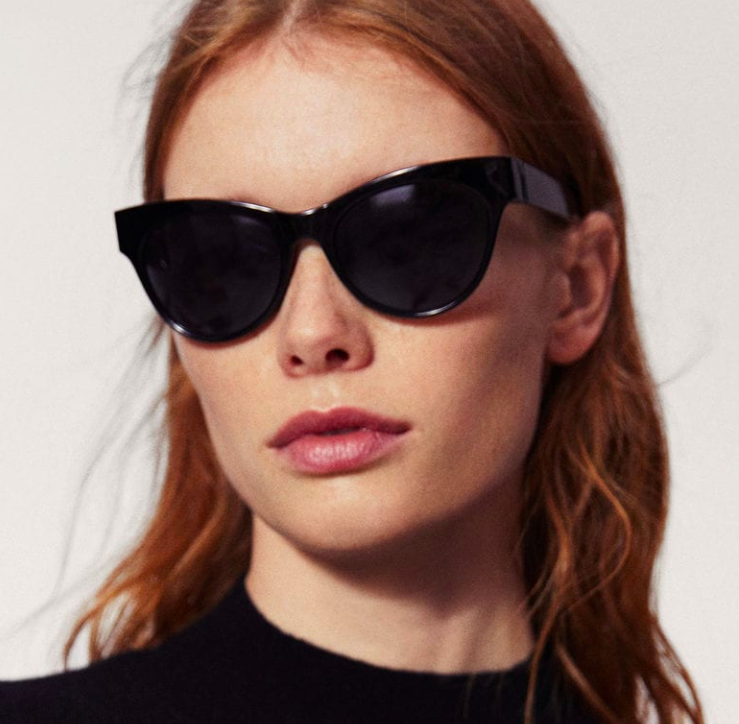 Mango Cat-eye sunglasses