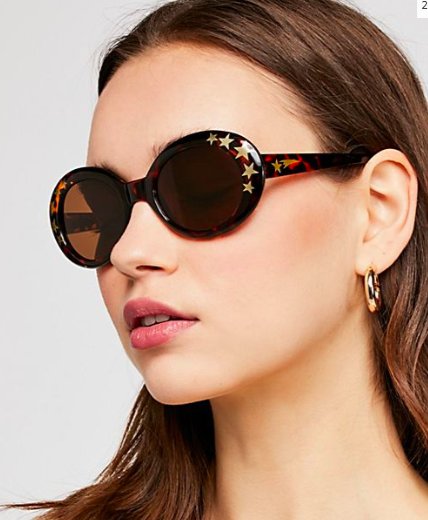 FP Outta Sight Star Print Sunnies