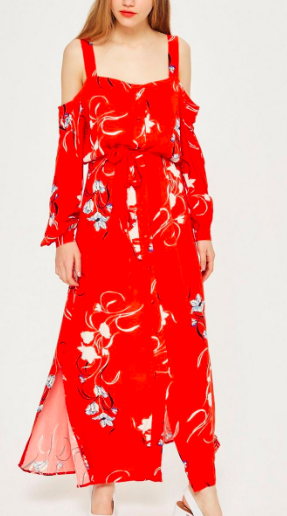 Floral Maxi Dress by YAS