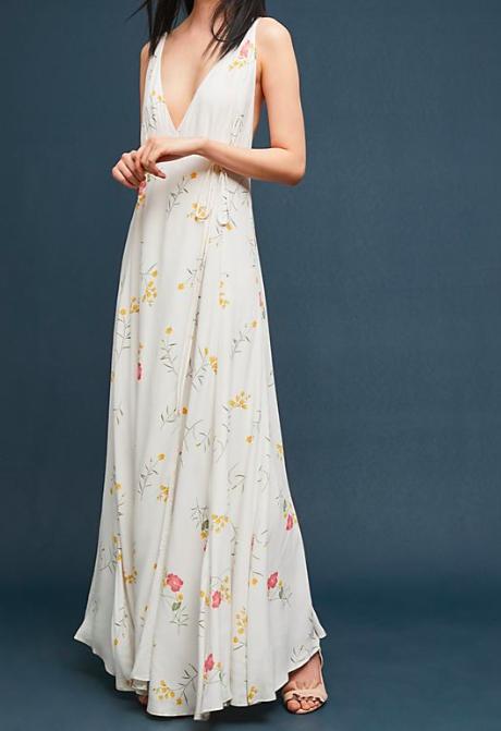 Capulet Josephine Wrapped Maxi Dress