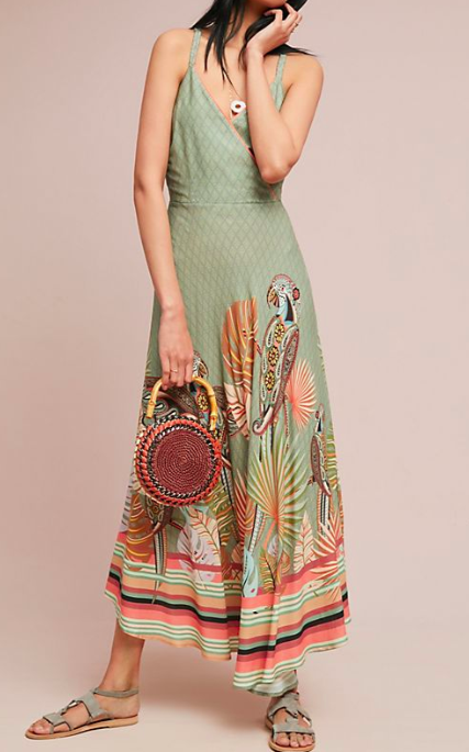 Farm Rio Toucan Maxi Dress