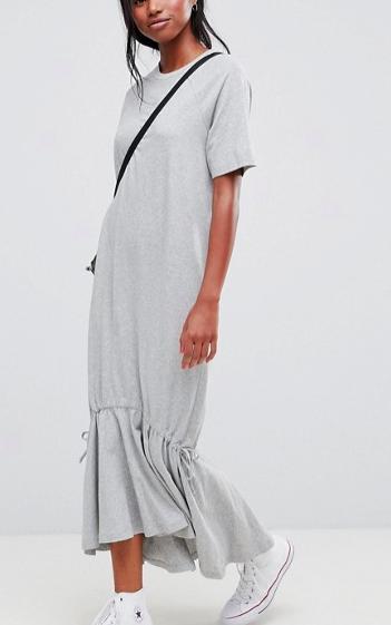 ASOS Drop Hem Maxi Dress