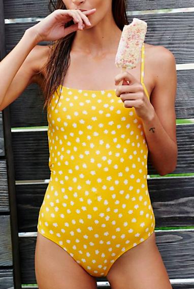 Printed Josie One-Piece Swimsuit