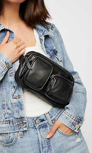 Bowery Distressed Belt Bag