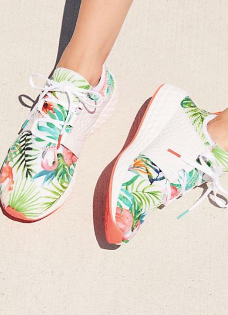 NB Floral Cruz Sneaker