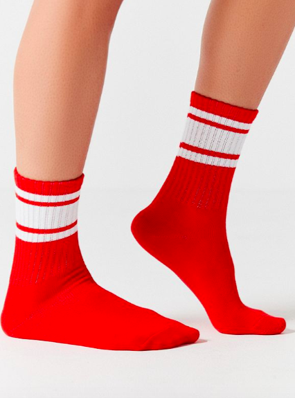 Out From Under Sporty Gym Crew Sock