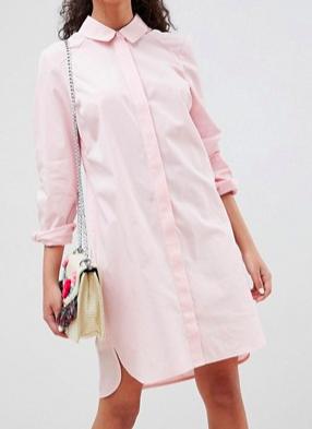 ASOS DESIGN cotton shirt dress