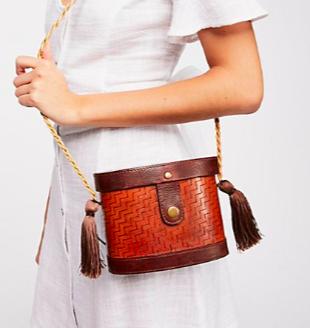 FP Leather Box Bag