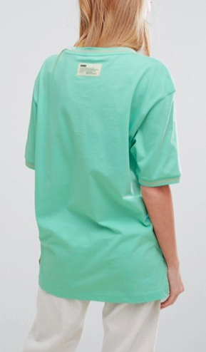 Puma Exclusive Oversized Organic Cotton Boxy Badge T-Shirt