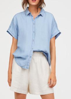 HM Lyocell Denim Shirt