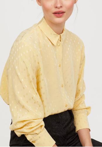 HM Crêped Shirt