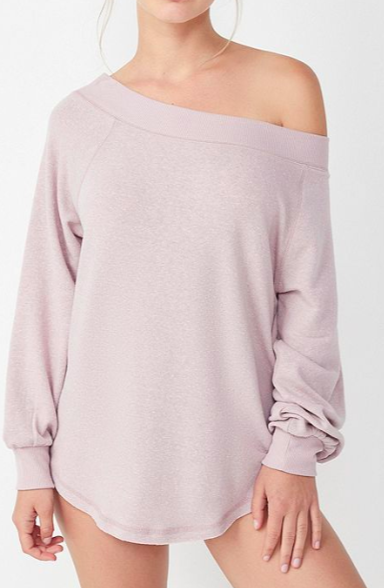 Out From Under Lyssa Off-The-Shoulder Sweater
